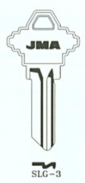 JMA SLG-3AL.AN Aluminum Orange Key Blank for SC1