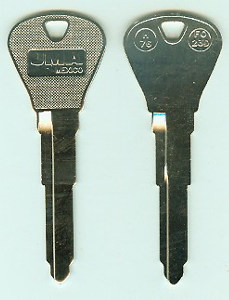 Key blank, JMA FO23D for Ford H76