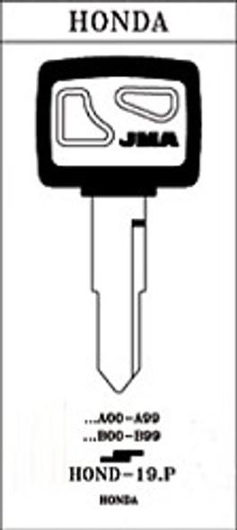 JMA HOND-19.P Key Blank for Honda HD74/X84 (RH)