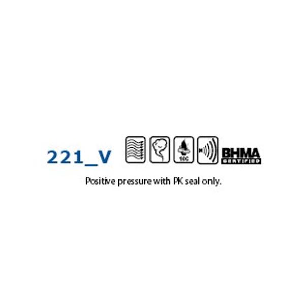 Pemko 221AV 48 Door Bottom 3in X 48in
