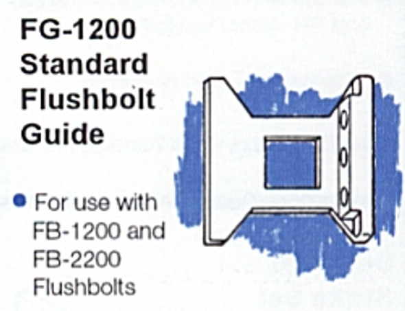 International IDC FG-1200 Standard Flushbolt Guide