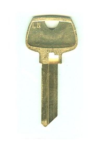 Key blank, 6270LN Sargent LN, 6-pin