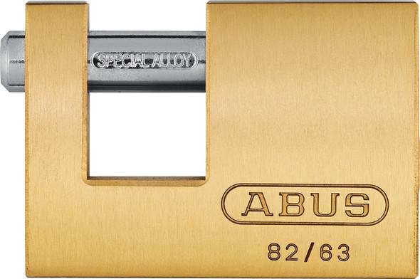 Abus 82/63 KD Monoblock Padlock, Keyed Different