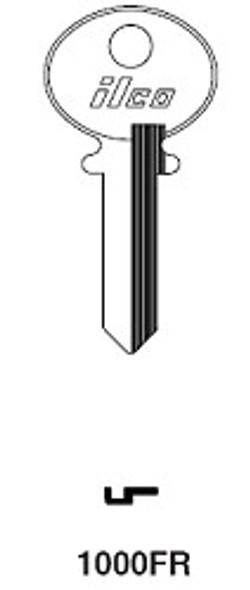 Key blank, Ilco 1000FR Corbin