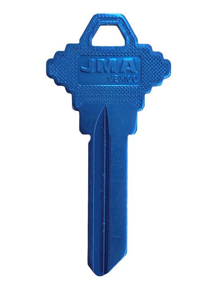 JMA SLG-4.AM Key Blank,  Aluminum Dk Blue, SC4
