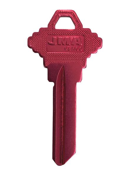 JMA SLG-4AR Key Blank Aluminum Red, SC4
