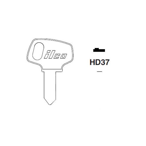 Ilco H79M Key Blank for Honda HD37