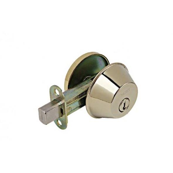 Deadbolt, Weslock S/C 371-B Polished Brass