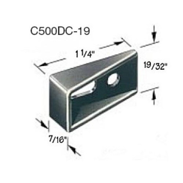 Compx Timberline C500DC-19 Strike plate/stop