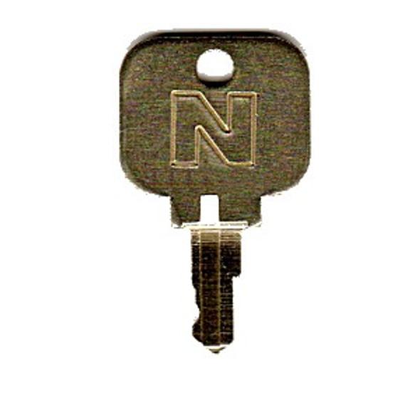Blue Dog Key, Precut Key for National Dispenser Lock