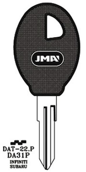 Key blank, JMA DAT22P for Nissan DA31P/X210