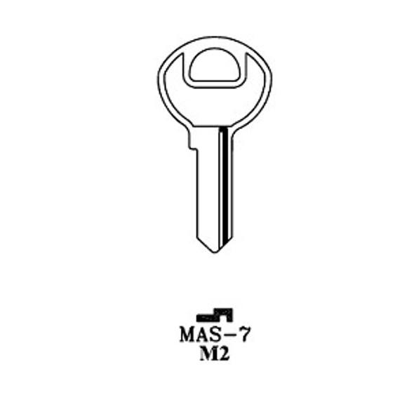 JMA MAS-7E Key Blank for Master M2
