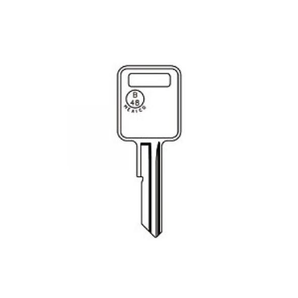 Key blank, JMA GM6E for GM B48-A