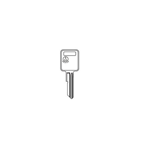 Key blank, JMA GM7E for GM B50-C