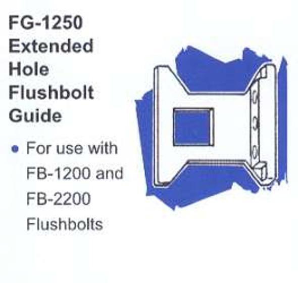 International IDC FG-1250 Extended Hole Flushbolt Guide