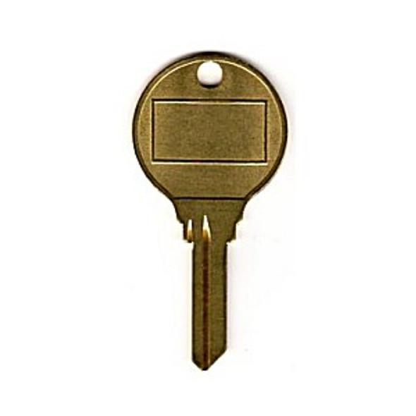 Kustom SC9HOTRK Key blank, Large Round Head SC9 Hotel Style
