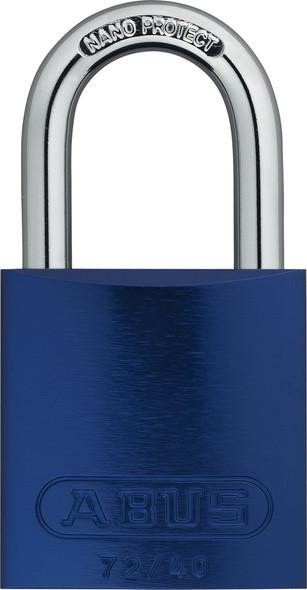 Abus 72/40 Blue Padlock, Keyed Alike TT00019