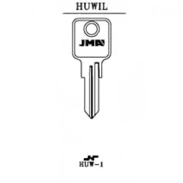 JMA HUW-1 Key Blank for Huwil