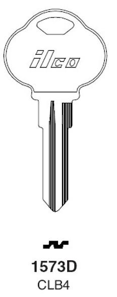 Ilco 1573D Key Blank, Club CLB4, CB4
