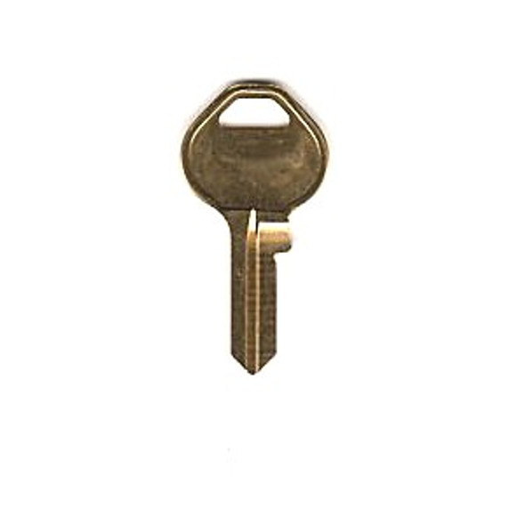 Key blank, Jet CON1 for GM Console Lock