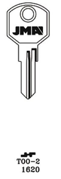 JMA TOO-2 Key Blank for Delta 1620