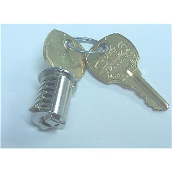 Key plug only, National ES Codes for HON Cam Lock