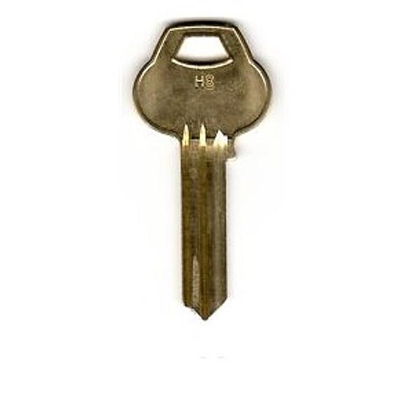 Corbin Russwin H8-6PIN-10 Key Blank, Section H8 6 Pin