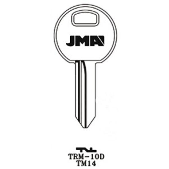JMA TRM-10D Key Blank for Trimark 1622/TM14