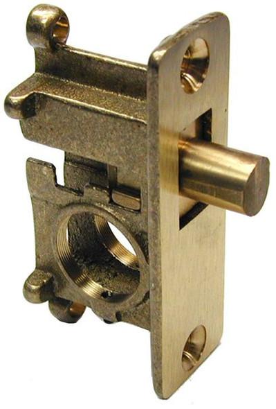 Deadbolt Lock, Glass Door Lock with Round Bolt