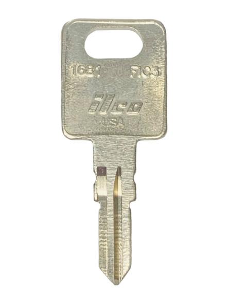 Ilco 1681 Key blank, FIC