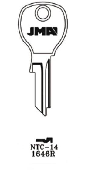 JMA NTC-14 Key Blank for National 1646R