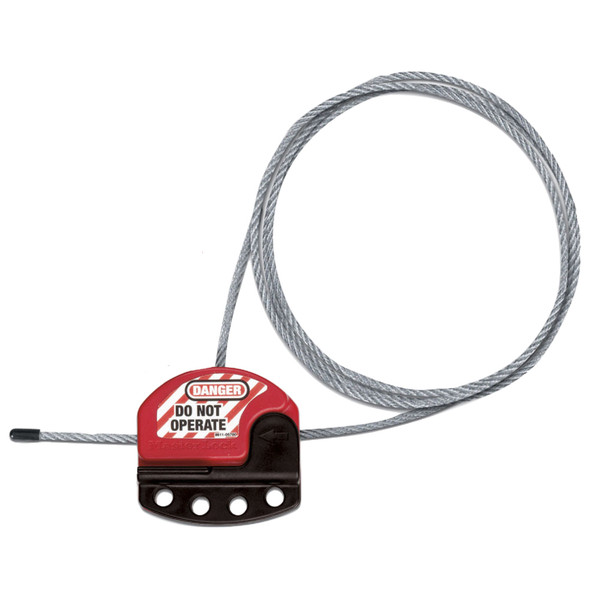 Master Lock S806CBL3 Cable Lockout, with 3 foot cable
