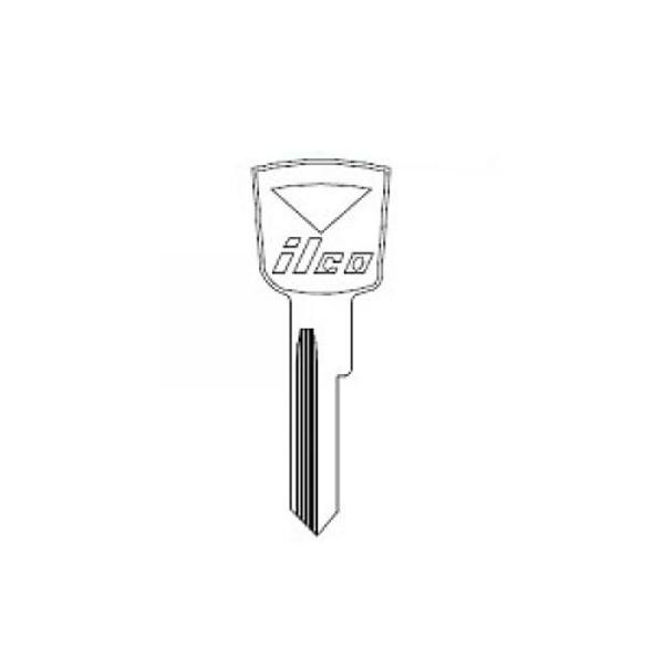 Key blank, Ilco 1127DU Fits Ford