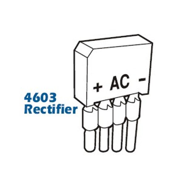 Adams Rite 4603 Rectifier with Leads