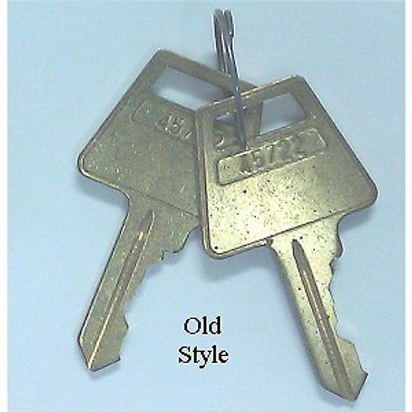 Precut padlock keys, standard 5-pin American Lock