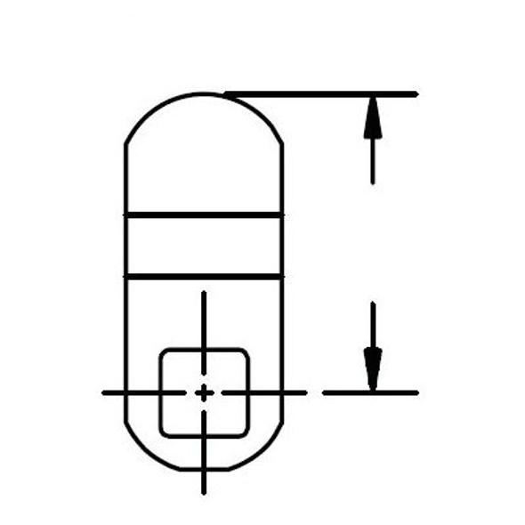 """ESP MCA-470 Offset Cam 1-1/2"""", 1/4"""""""