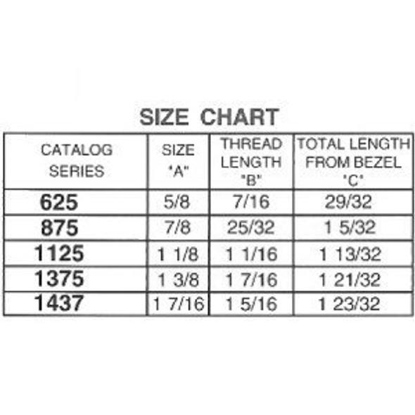 """ESP ULR-437STD 7/16"""" Cam Lock, Keyed Alike ES203"""