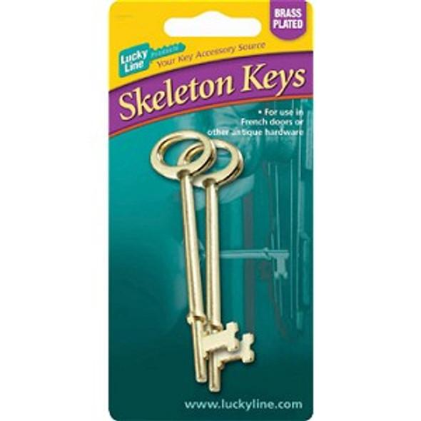 Lucky Line 87102 Skeleton Keys, Notch Tip 2-pack