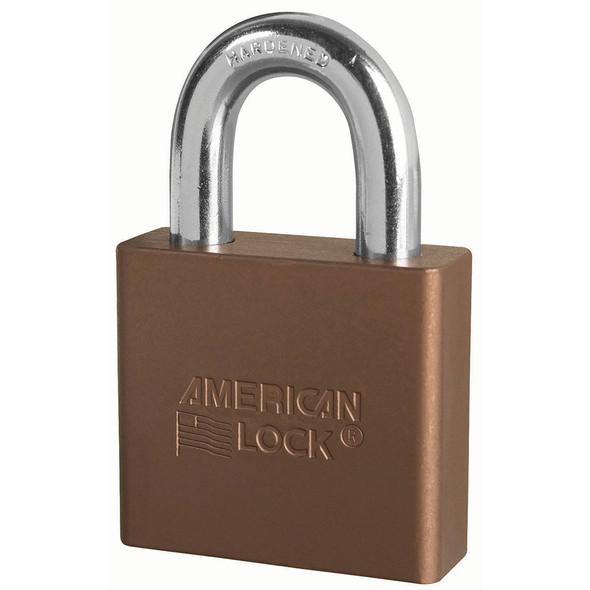 American Lock A1305 Brown Padlock, Keyed Alike 27676