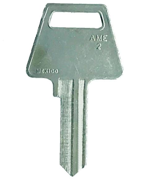 JMA AME-2 Key Blank  for American Padlock 6-pin