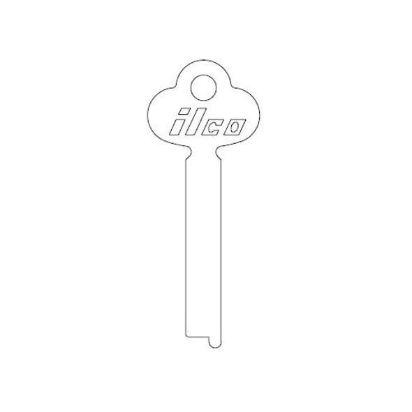 Ilco 1422 Key Blank flat stock, steel material