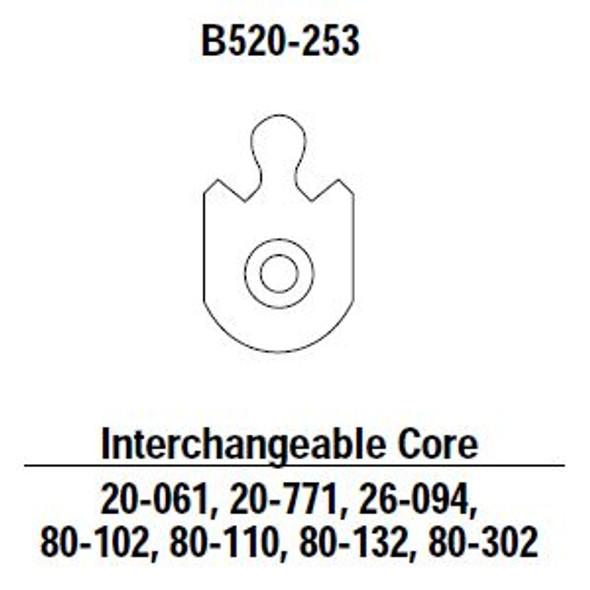 Cam Mortise IC B520-253