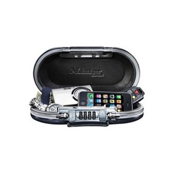 Master Lock 5900D Portable Personal Safe, Black
