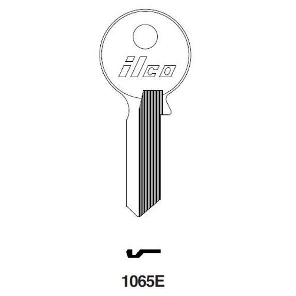 Key blank,  Ilco 1065E National
