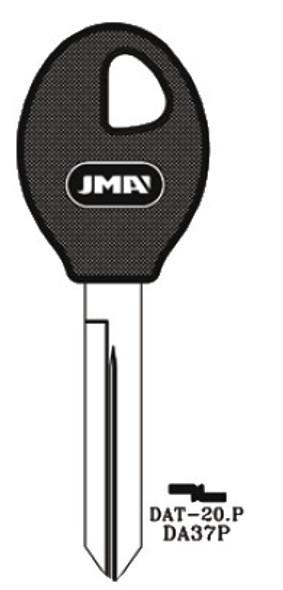 Key blank, JMA DAT20P for Nissan DA37P