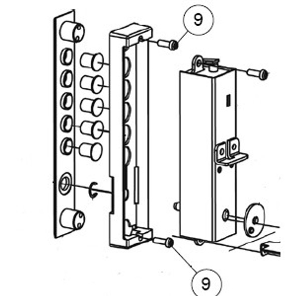 Backup plate screws