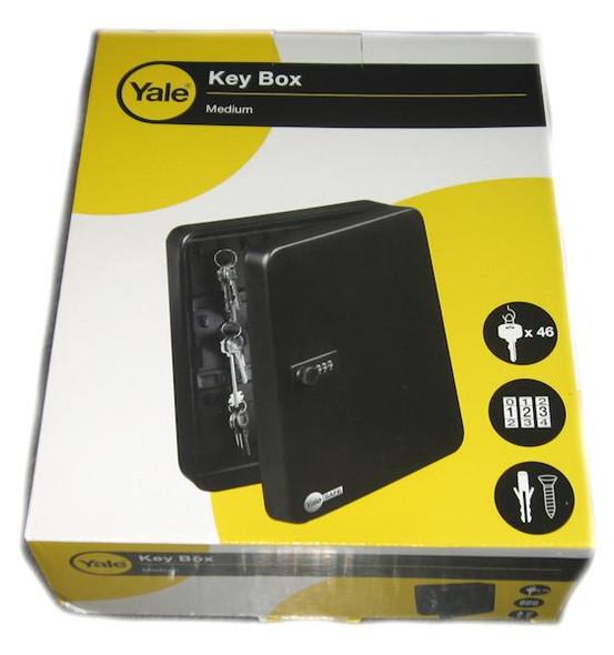 Yale Key Box Medium - Combination Lock 46 Hooks