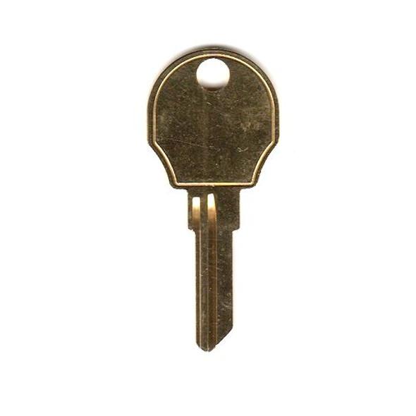 Key blank, Wesko AP4, Steelcase