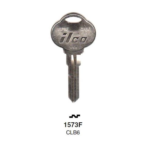 Ilco 1573F Key Blank, Club CLB6, CB6