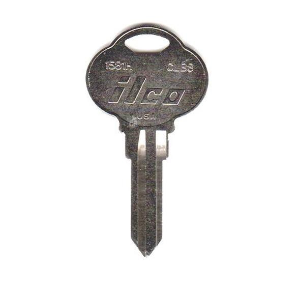 Ilco 1581H Key Blank, Club CLB8, CB8